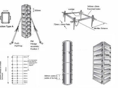 Acrow Column Boxes