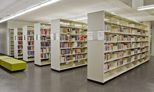 Acrow Library Shelving